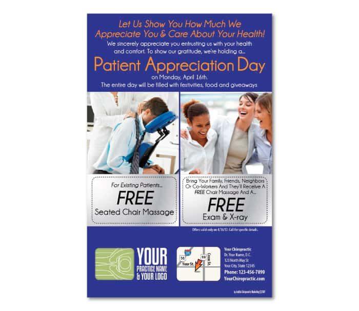 patient appreciation day flyer