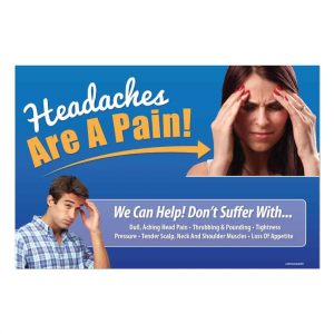 chiropractic posters, headache poster, online print store