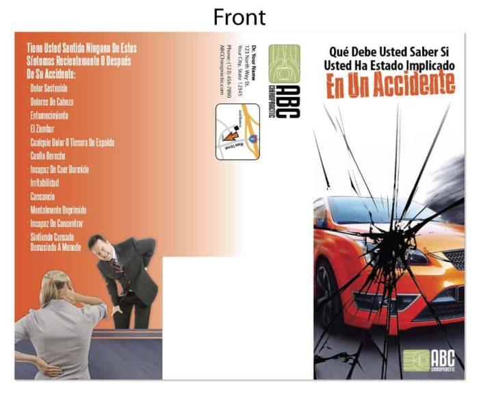 spanish chiropractic marketing, hispanic chiropractic advertising, spanish chiropractic postcards, hispanic new patient postcards, spanish existing patient postcards, personal injury postcards, auto accident postcards, online print store, spanish postcards, hispanic postcards, spanish print materials