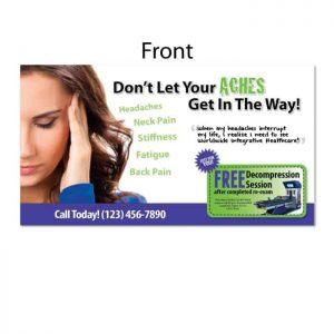 chiropractic postcards, reactivation postcards, recall postcards, new patient postcards