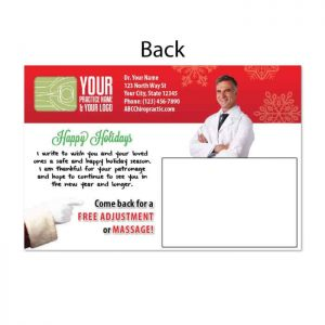 chiropractic postcards, reactivation postcards, recall postcards, new patient postcards