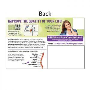chiropractic postcard