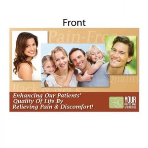 new patient postcard, wellness postcard, family chiropractor