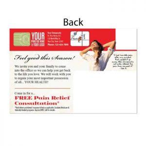 new patient postcard, wellness postcard