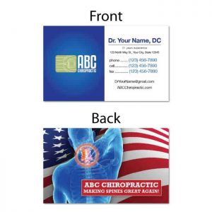 Business referral cards category justus chiropractic marketing business card making spines great again colourmoves